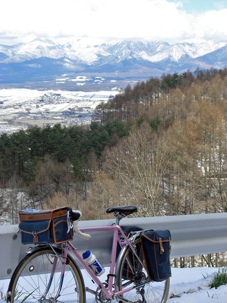 (日本語) 雪と桜の秋葉街道ツーリング・1日目