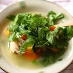 癒しの野菜スープ