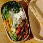 野菜+αで風味良く。冬の爽やか曲げわっぱ弁当レシピ。