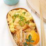 クイック天丼弁当と、柚子の香りのおかずたち。