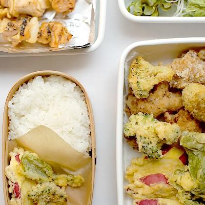 手抜きだらけの天ぷら弁当と、ちょっとした小ワザ。