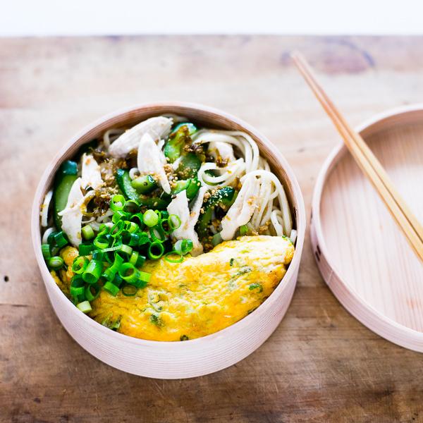 夏にぴったり!半田素麺の簡単お弁当レシピ。