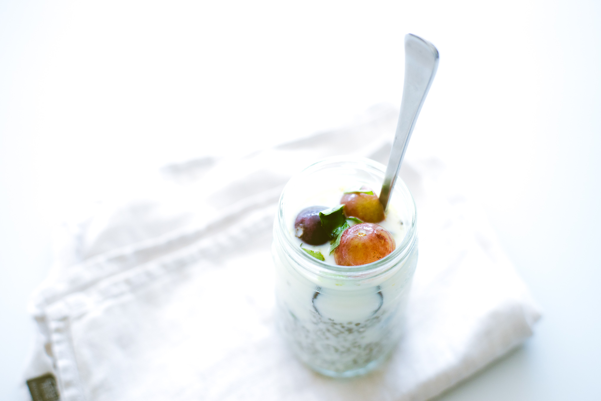 chia-pudding-and-grape-salad-9