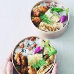 フォトレッスン用に作った筍と高野豆腐の煮物と、他いろいろ弁当。