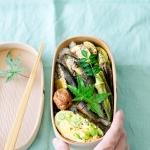 暑くてもさっぱり食べられる、鮎の梅煮弁当。