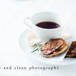 白がテーマ。シンプルで清潔感のある料理写真を撮ってみよう。1月フォトレッスンのお知らせ