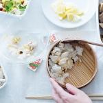 冬のお弁当にピッタリ!白身魚のレモンそぼろ弁当のレシピ。