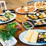 みんなでお弁当を詰めて、写真を撮って。大阪で出張曲げわっぱ弁当フォトレッスンでした!