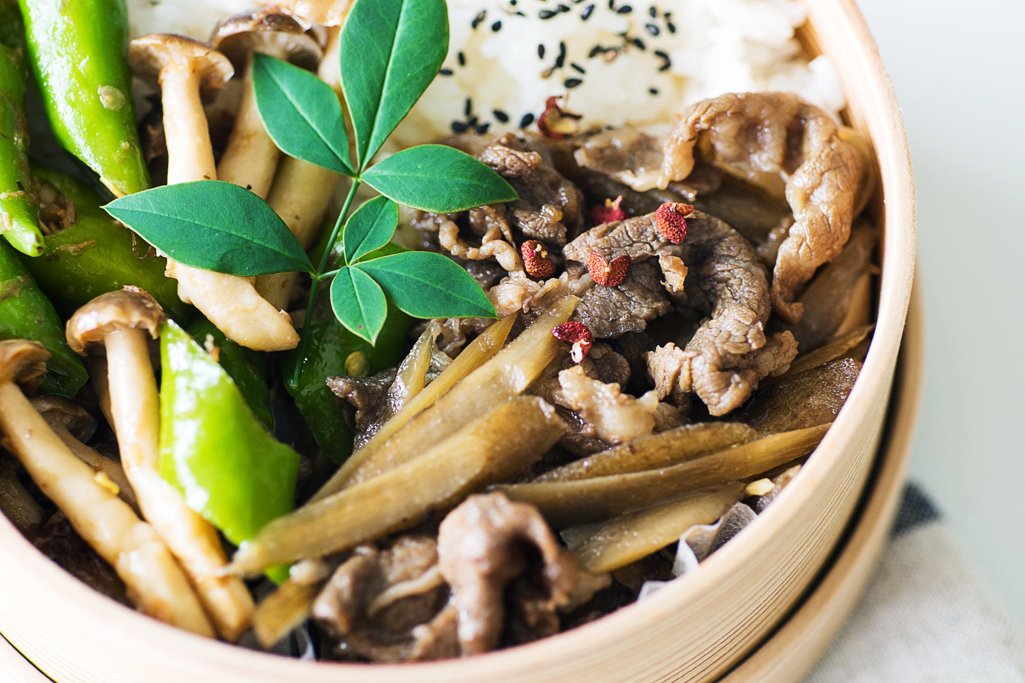 牛肉とごぼうの炒め煮は、白ごはん.comのレシピが美味しい