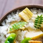 今年の竹の子ご飯弁当の献立は、ここ数年で一番バランスよく作れたかも。