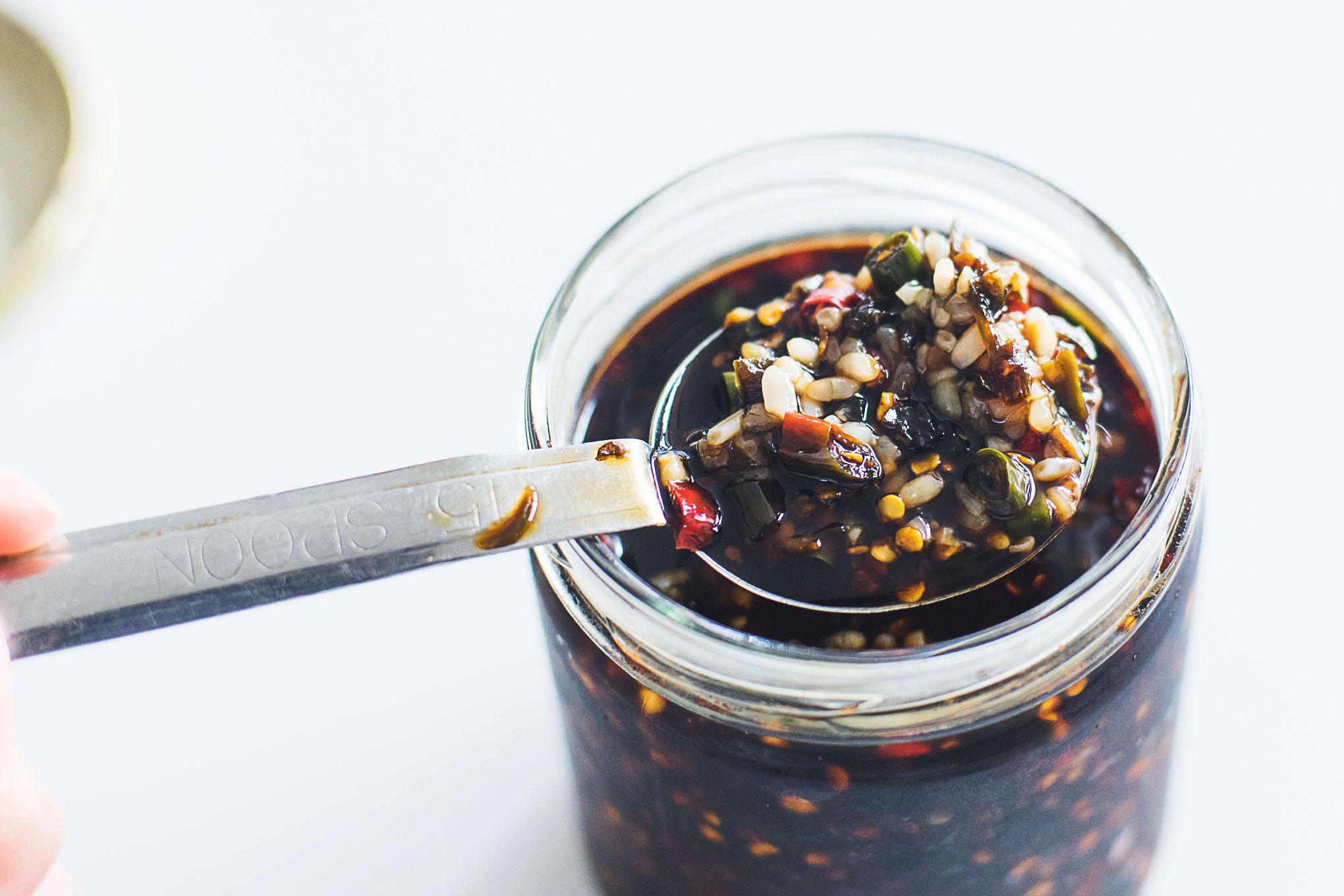 【旨辛】三升漬けを作ってみました。青唐辛子醤油よりさらに美味しい。