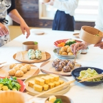 (日本語) 神山曲げわっぱでお弁当の詰め方1dayワークショップ、好評でした