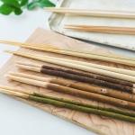 おかずの取り箸いろいろ。竹、梅、杉。