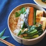 【基本講座レッスンレポート・2】焼き鮭弁当と、バームクーヘンと。