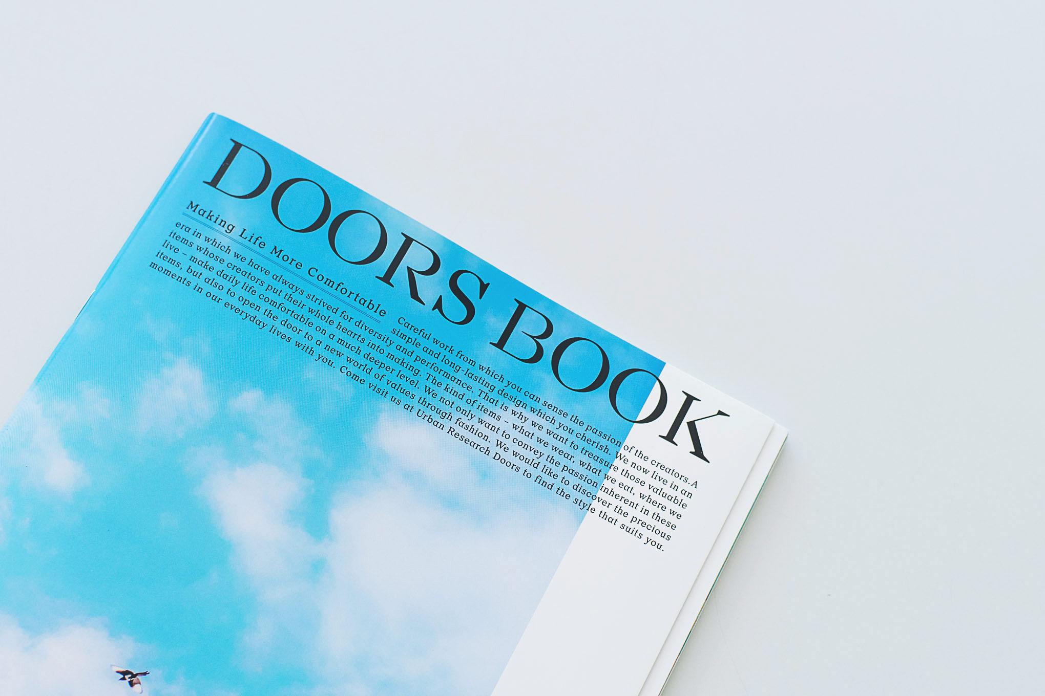 【掲載】アーバンリサーチ様2020年春夏カタログで取材していただきました