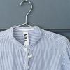 [:ja]襟が破れたお気に入りのシャツをノーカラーシャツにリメイクしてみた[:]
